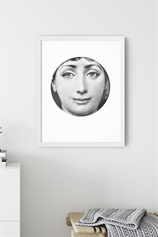 Fornasetti No:1 Poster Tablo
