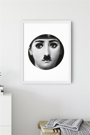 Fornasetti No:2 Poster Tablo