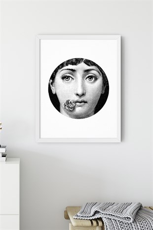 Fornasetti No:3 Poster Tablo