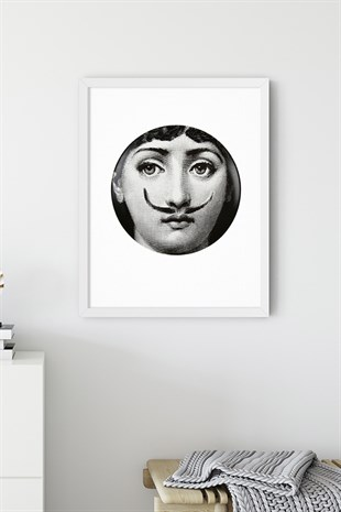 Fornasetti No:4 Poster Tablo