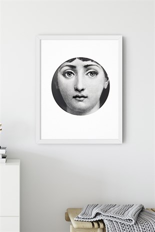 Fornasetti No:6 Poster Tablo