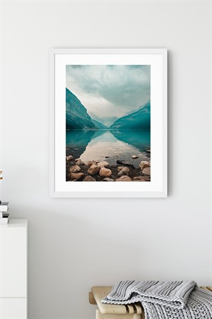 Lake Poster Tablo No:2