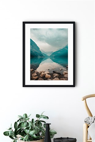 Lake Poster Tablo Seti