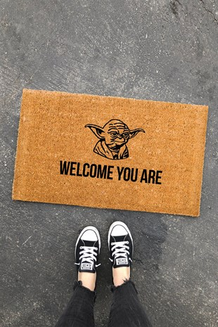 Star Wars Welcome You Are Paspas